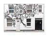 Street Art (THIS 1), East London, England. (Joseph O'Malley64) Tags: this1 streetartist streetart urbanart publicart freeart graffiti eastlondon eastend london england uk britain british greatbritain art artist artistry artwork mural muralist wallmural wall walls victorianbuilding victorianstructure flats apartments render brickwork bricksmortar cement pointing windows doubleglazedwindows upvcdoubleglazing windowblinds satellitedish wiring electricalwiring doors doorways plasticdoor woodendoors entrances exits stopcock pavement urban urbanlandscape aerosol cans spray paint fujix x100t accuracyprecision 4