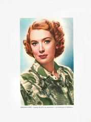 Deborah Kerr (Truus, Bob & Jan too!) Tags: deborahkerr deborah kerr british actress european filmstar hollywood star movie movies film cinema cine kino picture screen glamour allure vedette vintage collectors card mgm kingsolomonsmines 1950