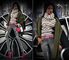 Cardigan-4 (Dollfason) Tags: fashionfordoll fashiondoll fr16 ficon dolloutfit doll collection clothes for dolls accessories