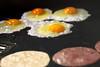 Big Lunch (Alberto Cavazos) Tags: egg ham fiedegg food tortilla 135l