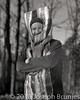Polar Plunge 2018 Portrait (Joseph Brunjes) Tags: brunjes joseph polar plunge portrait bacon costume 2018 stokes hanging rock film 8x10 largeformat chamonix 300mm blackandwhite