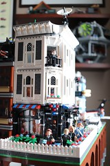 New T Bricks Tower Opens (aj_mr) Tags: lego city bricks custom modular