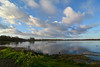 CosumnesCloudColor 03 (Dave Skinner Photography) Tags: cosumnes river preserve sunrise birds heron egret cran clouds bridge swan almonds road 500mm winter birding