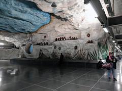 Stockholm Subway Longest Art Museum in the World27 (Barbara Brundage) Tags: stockholm subway longest art museum world