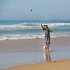 fetch.... (Wanda Amos@Old Bar) Tags: oldbar wandaamos ball beach dog fauna fetch game man pets sand sea sky surf water waves
