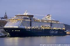 Color Magic ved SAK (3) (Christoffer Andersen) Tags: colorline colormagic cruiseferry worldlargestcruiseshipwithcardeck passengership portofoslo oslo oslofjorden