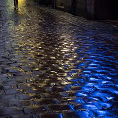 Palette (cactus2016) Tags: rouen rue nuit sol streetphotography pavement pavés night