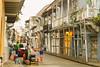 Preparing Street Food Breakfast, Cartagena Colombia (AdamCohn) Tags: kmtoin adamcohn cartagena colombia architecture colonial colonialarchitecture geo:lat=10426206 geo:lon=75547422 geotagged street streets wwwadamcohncom bolívar