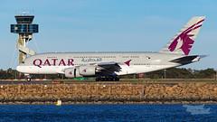 A7-APG QR A380 34L YSSY-2835 (A u s s i e P o m m) Tags: qatarairlines qatar qr airbus a380 syd yssy sydneyairport
