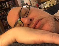 Day 2207: Day 17: Nap (knoopie) Tags: 2017 january iphone picturemail doug knoop knoopie me selfportrait 365days 365daysyear7 year7 365more day2207 day17