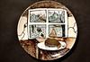 Communion 3 (aislinnnnnnnnn) Tags: art fineart graysonperry plates paintedplates ceramics ireland bridgetcleary folklore changeling goldleaf