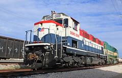 A slow Weekend (GLC 392) Tags: emd gp15 gp151 california northern railroad railway train garland tx texas rail america dallas 2000 111 nre national equipment northeastern 3gs21c genset