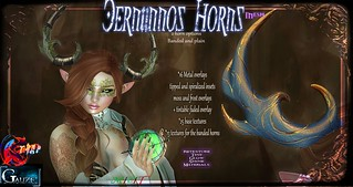 Gauze&Trap Cernunnos Horns Display