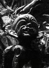 Little Imp (margotd2) Tags: carving wooden imp sprite goblin dark contrast shadow