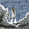 img014 (vanechkaivanov) Tags: art illustrastion pen ink drawing sci fi space scifi spaceship spaceshuttle shuttle nasa liftoff launch