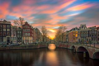 Leidsegracht - Keizersgracht, Amsterdam