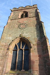 Tower (daveandlyn1) Tags: tower clock window bluesky flagpole shadows stlaurence meridenparishchurch nrcoventry westmidlands iii f3556 efs1855mm 1200d eos canon