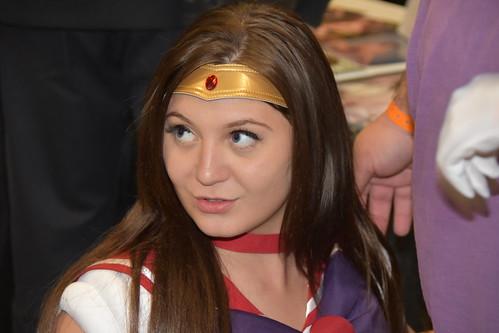 Jojo Kiss In Her Sailor Mars Costume