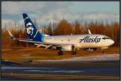 N627AS Alaska Airlines Air Cargo (Bob Garrard) Tags: n627as alaska airlines cargo boeing 737790 737700 freighter anc panc air