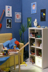 geek room (kinmegami) Tags: geek huset miniature rement roombox diorama 16 ikeahuset