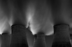 Trolls (TS446Photo) Tags: zeiss nikon power station longexposure night vape steam smoke burn fuel monochrome black white