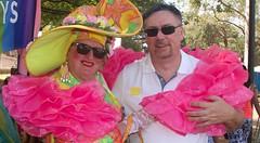 With Dame Dolly (Val in Sydney) Tags: fair day mardi gras gay lesbian lgbt australia australie nsw sydney