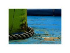 ... (kate053) Tags: texture vert bleu mer corde maritime