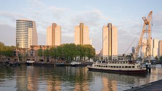 Bateau, Rotterdam, Hollande - 2376