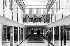 perspective de couloir (Rudy Pilarski) Tags: nikon tamron d7100 2470 urbain urban urbano city ville moderne perspective monochrome france modern vanves paris