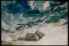 Moctezuma effect (kazimierz.pietruszewski) Tags: abstract form composition digipaint digitalart concept graphic colorful border canvas surreal surrealism sky