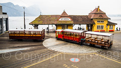 Historic Train Wagons from 1871, 1875 and 1889, Mount Rigi Railways, Vitznau Depot, Switzerland (jag9889) Tags: 2018 20180225 6353 architecture boat building ch cantonlucerne cantonoflucerne centralswitzerland cogwheel europe helvetia historic house innerschweiz insurance kantonluzern königinderberge lu lake lakelucerne locomotive lozärn lucerne luzern mountrigi mountain outdoor people queenofthemountains railroad railway rigi schweiz see ship stadtluzern station steam suisse suiza suizra svizzera swiss switzerland train transportation turntable vrb vessel vierwaldstättersee vintage vitznau vitznaurigibahn wagon wasser water weggis winter wäggis zentralschweiz jag9889