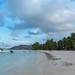 Strand Anse Volbert auf der Insel Praslin Seychellen