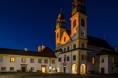 Mariahilf at Blue Hour - Passau, Germany (dejott1708) Tags: mariahilf passau germany night shot long exposure church blue hour
