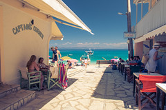 Captian's Corner at Agios Nikitas (Traveling together) Tags: lefkas 2017 zomer griekenland vakantie fida sven yela