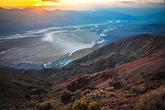 Dante's View Sunset Death Valley Fine Art Landscape Photography! Elliot McGucken Fine Art Landscape & Nature Photography! (45SURF Hero's Odyssey Mythology Landscapes & Godde) Tags: dante view sunset death valley dr elliot mcgucken fine art landscape photography dantes nature