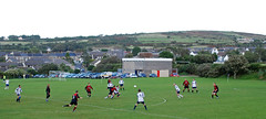 Redruth United v St Ives Mariners, Mining League Division 3, September 2008 (darren.luke) Tags: cornwall cornish football landscape nonleague grassroots redruth fc st ives