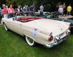 Ford Thunderbird Convertible 1955 (Zappadong) Tags: ford thunderbird convertible 1955 celle 2017 classic bird birds zappadong oldtimer youngtimer auto automobile automobil car coche voiture classics oldie oldtimertreffen carshow