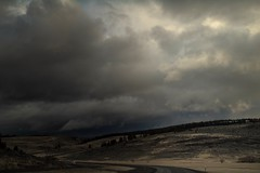 entering the belly of the beast... (Alvin Harp) Tags: baker oregon lagrande i84 cloudsstormssunsetssunrises winterstorm mountainroads sonyilce7rm3 fe2470mmf28gm january 2018 natureswonder ominousclouds alvinharp