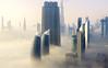 The Arrival (JohnNguyen0297 (busy - on/off)) Tags: dubai foggy fog uae wanderlust bucketlist sunrise