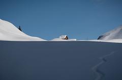 winter wonderland (jan.wallin) Tags: switzerland afsnikkor241204gvr engelberg winter travel alps wolfenschiessen nidwalden schweiz ch sky snow swissalps powder hütte