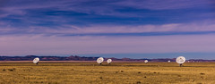 The Very Large Array (Photography by Mark Hall) Tags: verylargearray telescope
