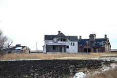 Abandoned Prairie Farm (Mick Loyd) Tags: abandonedprairiefarm farm abandoned farmhouse barn manitoba