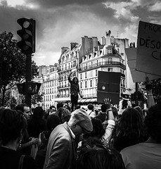 Against (Romain Bellarot) Tags: street rue city ville people ciudad calle manifestation protest