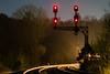 SK Cabin (Kyle Yunker) Tags: csx co chesapeake ohio railroad signal night light headlights tracks