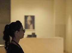 Profile (Kaptain Kobold) Tags: kaptainkobold sydney nsw australia museum artgallery candid portrait person staff exhibition glasses