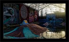 Série Espace Darwin - N°4: Derrière la porte (Jean-Louis DUMAS) Tags: tag darwin street art artist artistic rue artistique peinture murale artiste artdelarue streetart