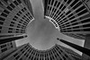 Stresemannquartier (Leipzig_trifft_Wien) Tags: building berlin perspective architecture wideangle modern contemporary lookingup circle curve circular sky grey blackandwhite bnw monochrome round composition notperfect