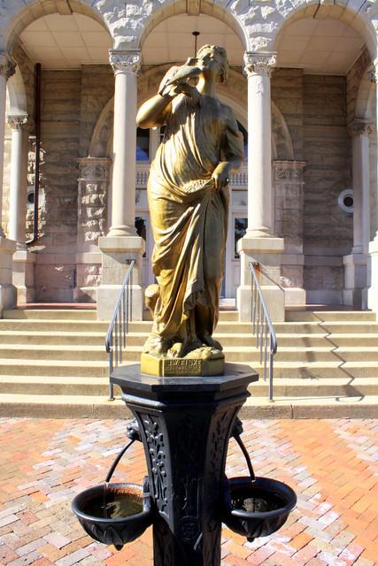 Harrisonburg, VA Courthouse Fountain