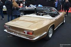 Maserati Mistral Spyder 1967 (Monde-Auto Passion Photos) Tags: voiture vehicule auto automobile maserati mistrale spyder spider cabriolet convertible roadster sportive rare rareté doré vauban vente enchère sothebys france paris