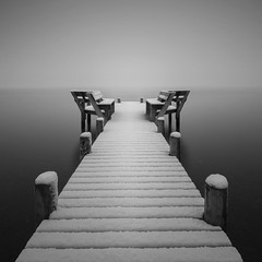 Winter Jetty (Richard Hunter ARPS) Tags: